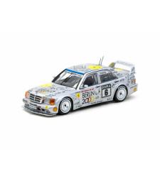 1992 Mercedes Benz 190 E 2.5.16 Evo II #6 Keke Rosberg DTM, White
