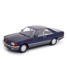 Mercedes 560 SEC C126 1985 Blue Metallic - Limited Edition 1000 pcs.