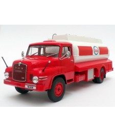 Man Diesel Esso Tank Truck, Red/White