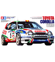 1:24 Състезателен автомобил Toyota Corolla WRC