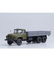 ZIL-133GYA Flatbed Truck - khaki-grey