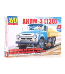 1:72 Street Cleaning Machine AKPM-3 (ZIL-130)