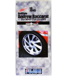 1:24 TW-33 18inch Veilside Andrew Baccarat Wheel&Tire