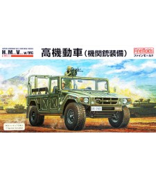 1:35 JGSDF High Mobility Vhicle with  MG & 2 Figures