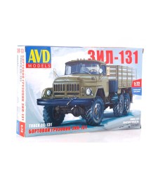 1:72 ZIL-131 Flatbed Truck