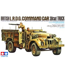 1:35 Команден автомобил L.R.D.G. COMMAND CAR 30cwt TRUCK - 2 фигури