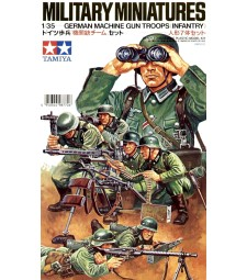1:35 German Machine Gun Troops Kit