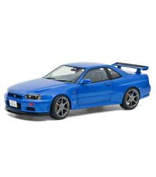 NISSAN R34 GTR - BAYSIDE BLUE - 1999