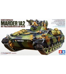 1:35 Немски унищожител на танкове Мардер 1A2 (Marder 1A2) - 2 фигура