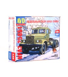 KRAZ-258B1 Tractor Truck - Die-cast Model Kit