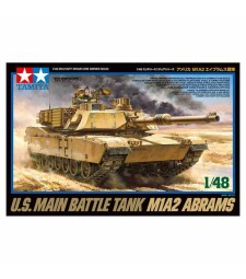 1:48 U.S. Main Battle Tank M1A2 Abrams