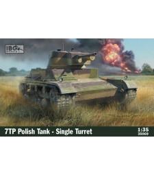 1:35 7TP Полски танк с единичен купол