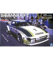 1:24 THE BEST CAR VINTAGE: SAVANNA RX-7 DAYTONA 24HOURS 1979 (GREEN) (MAZDA)