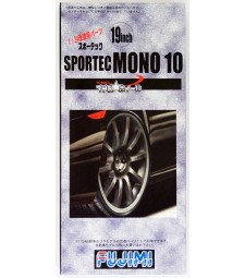 1:24 TW-12 19inch Sportec Mono Wheel and Tyre Set
