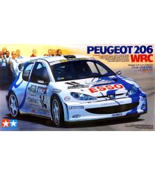 1:24 Състезателен автомобил Peugeot 206 WRC