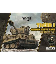 Германски тежък танк Тигър I (German Heavy Tank Tiger I) - сглобка без лепило