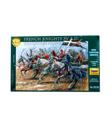 1:72 Френски рицари, XV век - 19 фигури