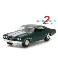 Hollywood Series 18 - John Wick: Chapter 2 (2017) - 1970 Chevrolet Chevelle SS 396 Solid Pack