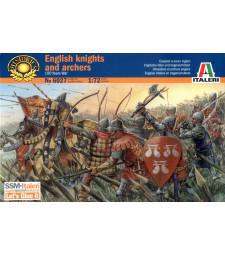 1:72 Стогодишна война: британски воини - 26 фигури