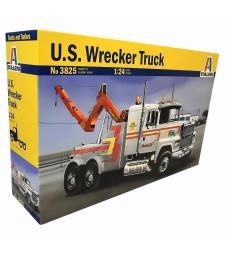 1:24 Ремонтен камион влекач US WRECKER TRUCK