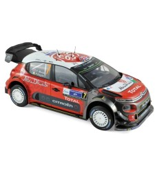 Citroen C3 WRC N°7 - Winner Mexique 2017 -  K.Meeke / P.Nagle