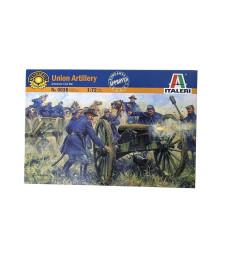 1:72 Американска гражданска война: Съюзническа артилерия - 21 фигури