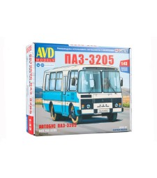 PAZ-3205 suburban bus - Die-cast Model Kit
