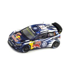 2015 Volkswagen Polo R WRC #1 S. Ogier/J. Ingrassia Monte Carlo, Blue/White
