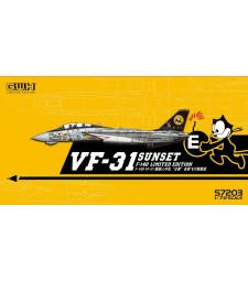 """1:72 Американски самолет US Navy F-14D VF-31 """"Sunset"""""""