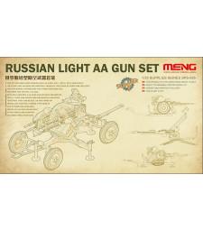 1:35 Руско леко противовъздушно оръдие (RUSSIAN LIGHT AA GUN SET)