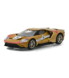 2017 Ford GT 1966 #5 Ford GT40 Mk II Tribute Solid Pack - Ford GT Racing Heritage Series 1