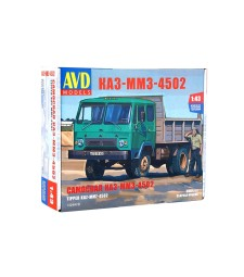 KAZ-MMZ-4502 dump truck - Die-cast Model Kit