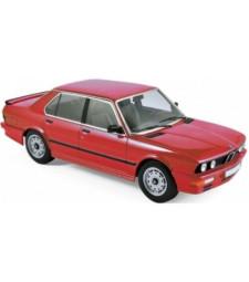 BMW M535i 1986 - Red