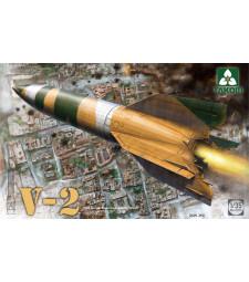 1:35 Германска балистична ракета с единична фаза V-2, Втора световна война (WWII German Single Stage Ballistic Missile V-2)