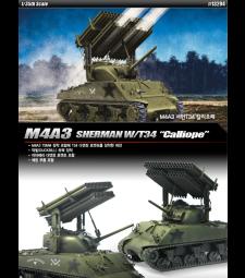 1:35 Американски танк Шърман М4А3 CALLIOPE (M4A3 SHERMAN CALLIOPE)