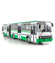 Ikarus-280.64 Articulated Bus - Wide Doors - Moscow