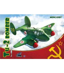Бомбардировач ТУ-2, сглобка без лепило - Детска колекция MENG
