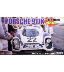 1:24 REAL SPORTS CAR SERIES PORSCHE 917K LE MANS WINNER