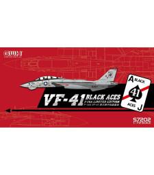 "1:72 Американски самолет US Navy F-14A VF-41 ""Black Aces"""