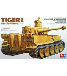 1:35 German Tiger I Initial Production Ausführung Afrika