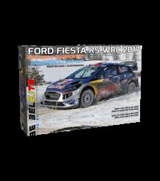 1:24 Състезателен автомобил Ford Fiesta RS WRC 2017Rallye Monte-Carlo 2017