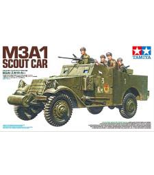 1:35 Американска брониран разузнавателен автомобил M3A1 - 5 фигури