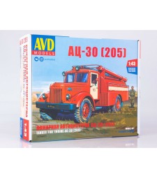 Fire engine AC-30(MAZ-205) - Die-cast Model Kit
