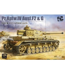 1:35 Германски танк Pz.Kpfw.IV Ausf.F2 и G