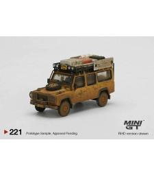1989 Land Rover Defender 110 Camel Trophy Winner Team UK Dirty Version, Yellow
