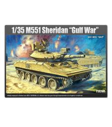 """1:35 Американски лек танк М551 Шеридан """"Войната в залива"""" (M551 SHERIDAN GULF WAR WA)"""