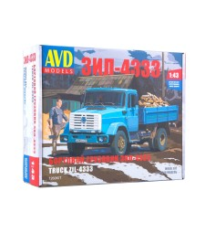 ZIL-4333 flatbed truck - Die-cast Model Kit