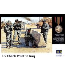 1:35 КПП в Ирак - 4 фигури