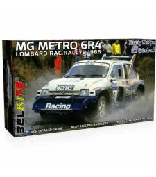 1:24 Състезателен автомобил MG Metro 6R41986