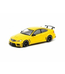 Mercedes Benz C63 AMG Coupe Black Series, Yellow
